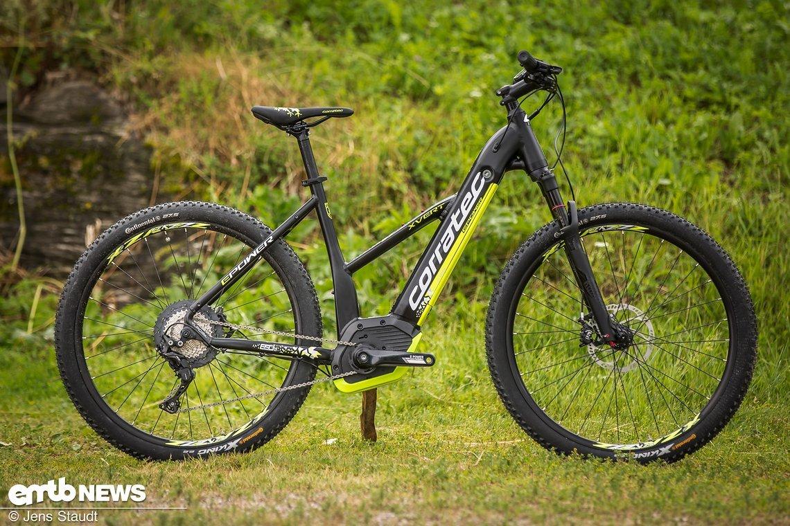 corratec 2018 neue e bikes mit integrierten akkus emtb. Black Bedroom Furniture Sets. Home Design Ideas