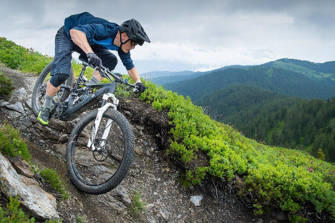 Jan ist selbst begeisterter Mountainbiker.