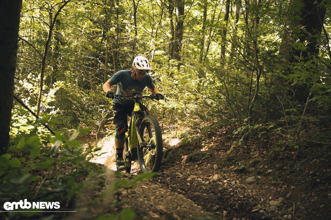 Im Uphill fühlt man sich auf dem Flyer Uproc 7 schnell wohl.