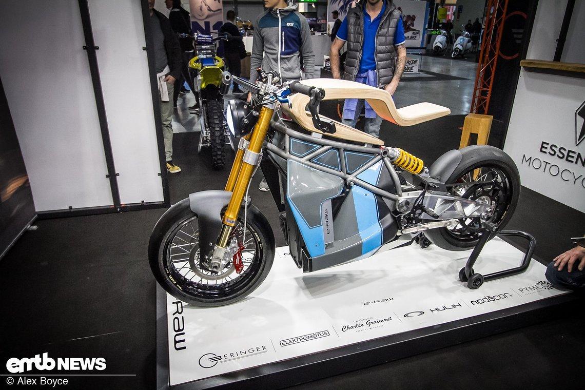 So stellen sich Essence Motorcycles ein Konzept E-Motorrad vor.