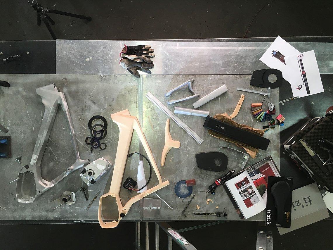 Konstruktion des Prototypen