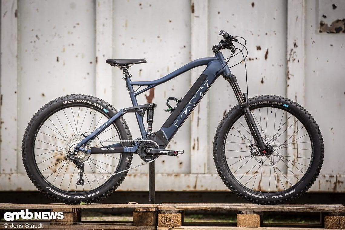 Unser Maxx Fab4 EL-Testbike