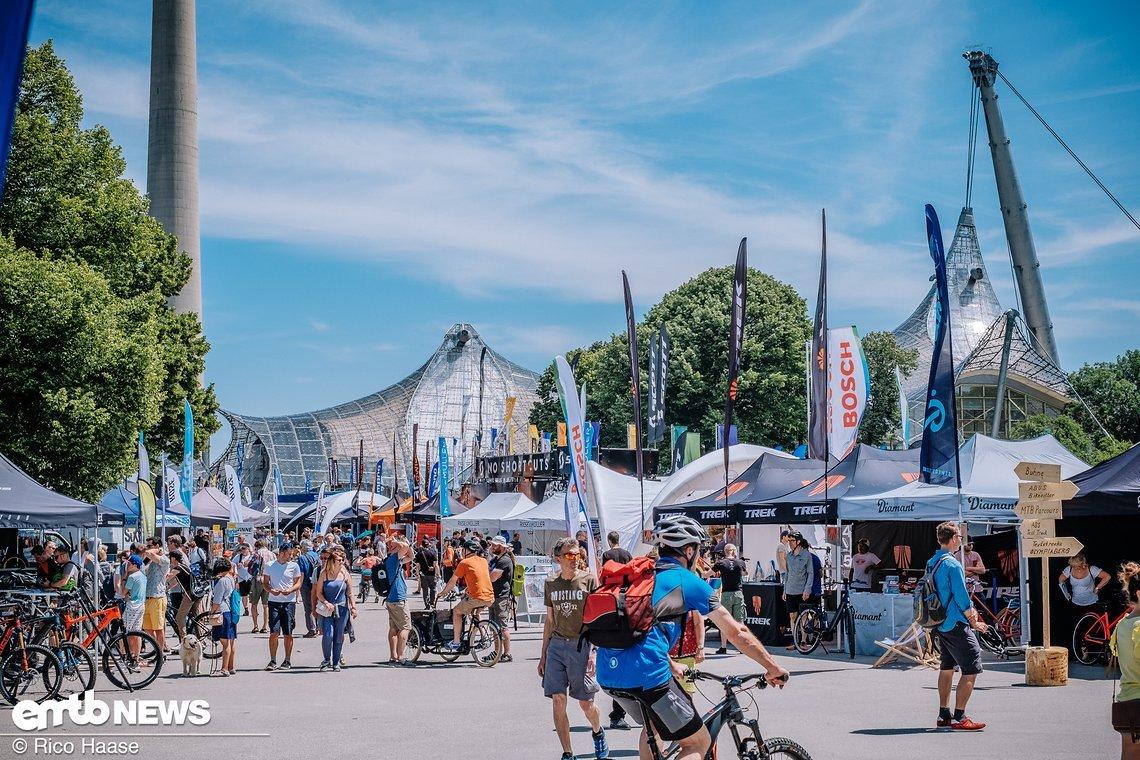 Die E-Bike Days München finden im Olympiapark statt