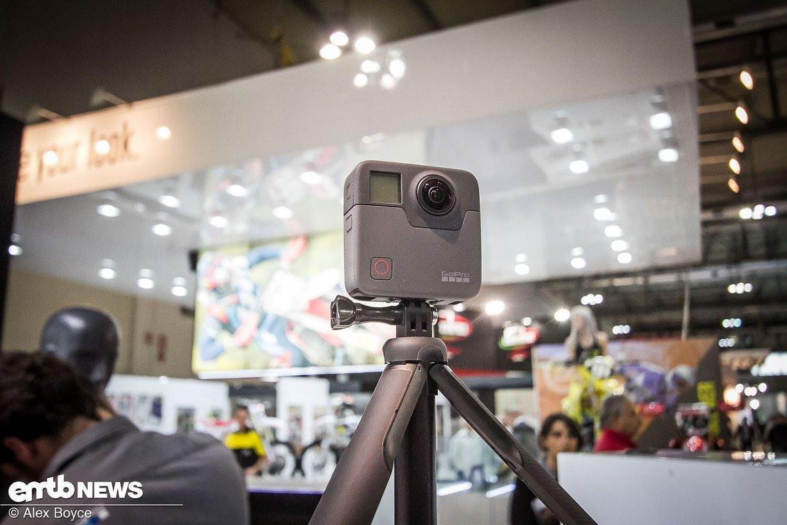 Last but not least, die GoPro Fusion-Kamera