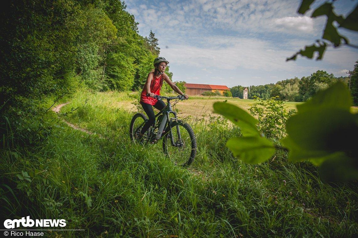 Knappe 30 km lang war unsere E-Bike-Tour