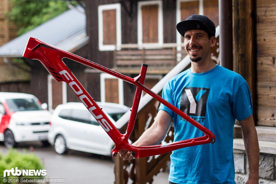 So sieht der e-Bike Rahmen aus