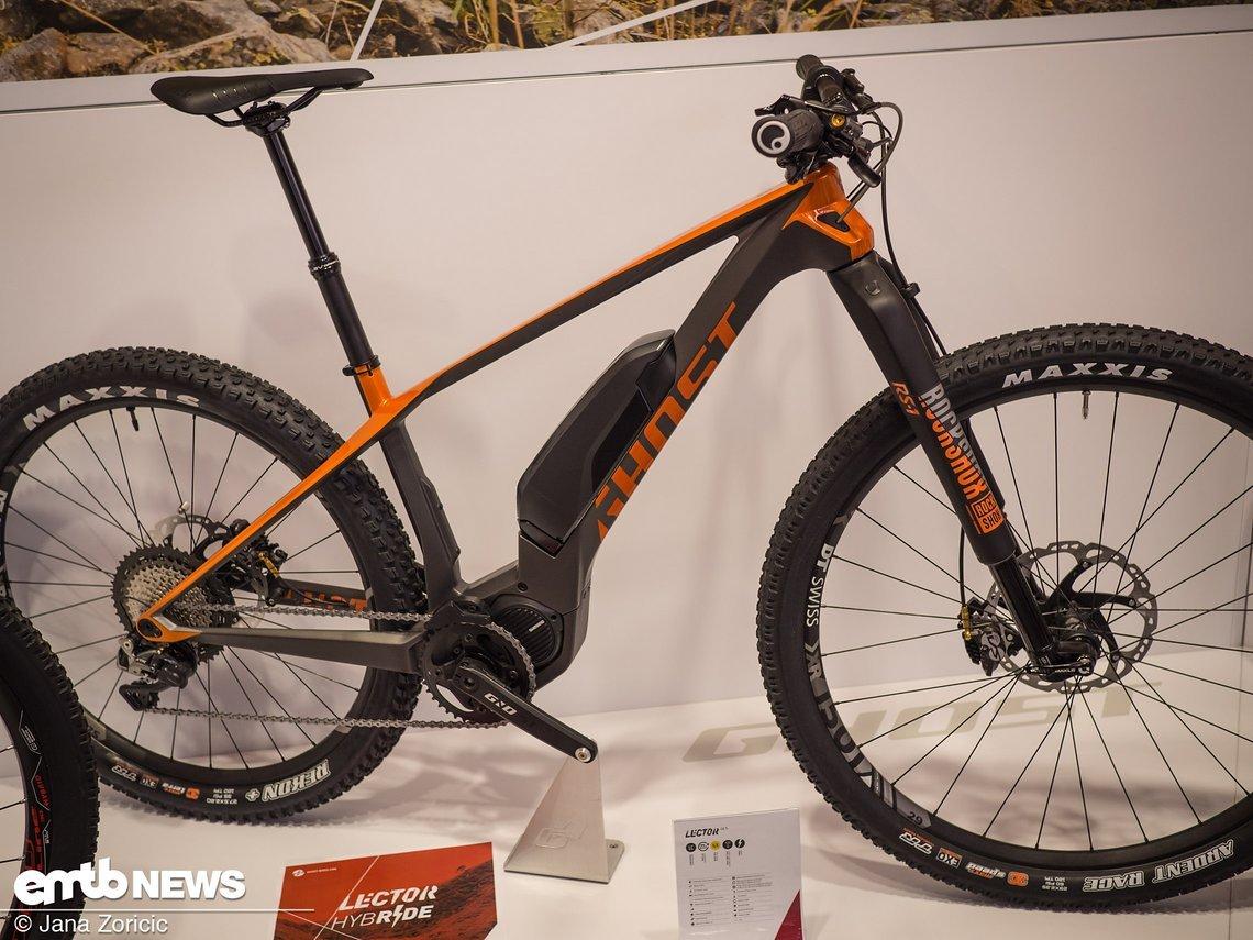 eurobike 2017 ghost bikes 2018 hybride kato fs mit. Black Bedroom Furniture Sets. Home Design Ideas