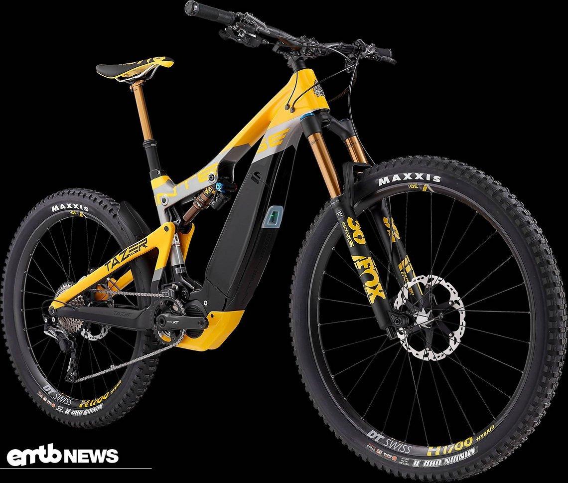 Neuvorstellung: Interne Tazer Pro mit MX-Laufrädern