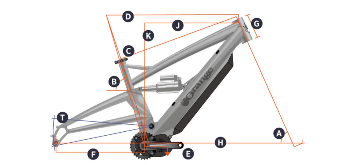 Orange Alpine 6 E – Geometrie