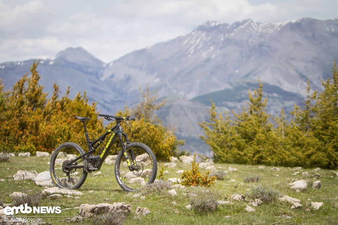 Hier fühlt sich das Rocky Mountain Altitude Powerplay am wohlsten
