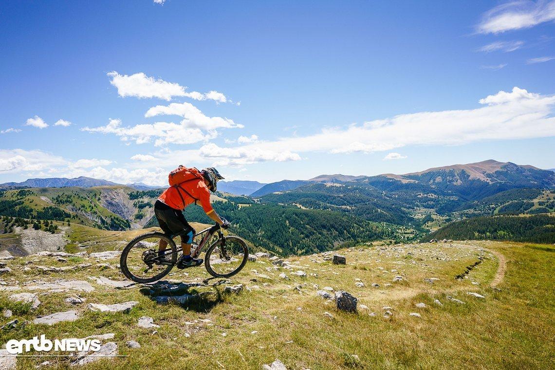 """Entdecken """"Where the Trail Ends"""" - genau dorthin ist man mit den 29er Laufrädern perfekt unterwegs"""