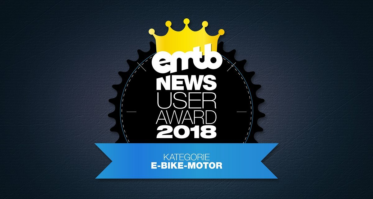 emtb news user award 2018 der beste e bike motor emtb. Black Bedroom Furniture Sets. Home Design Ideas