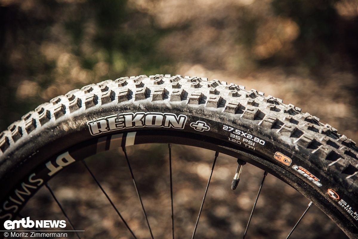 Wir würden einen griffigeren Reifen am Hinterrad montieren