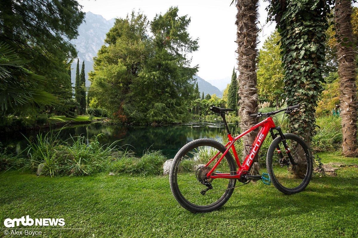 Keine Frage: Das E-Bike ist so schön wie die Umgebung.