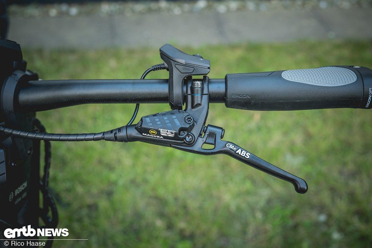 Die Griffe der neuen CME-Bremse von Magura wurden vollkommen neu gestaltet
