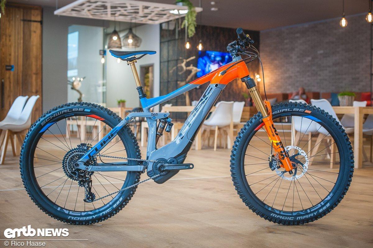 cube e bike neuheiten 2018 alle e mountainbikes in der bersicht. Black Bedroom Furniture Sets. Home Design Ideas