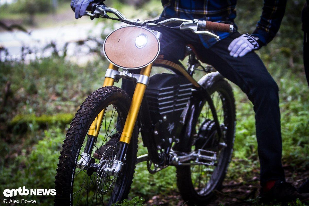 Es könnte sich glatt um ein Motorrad handeln!