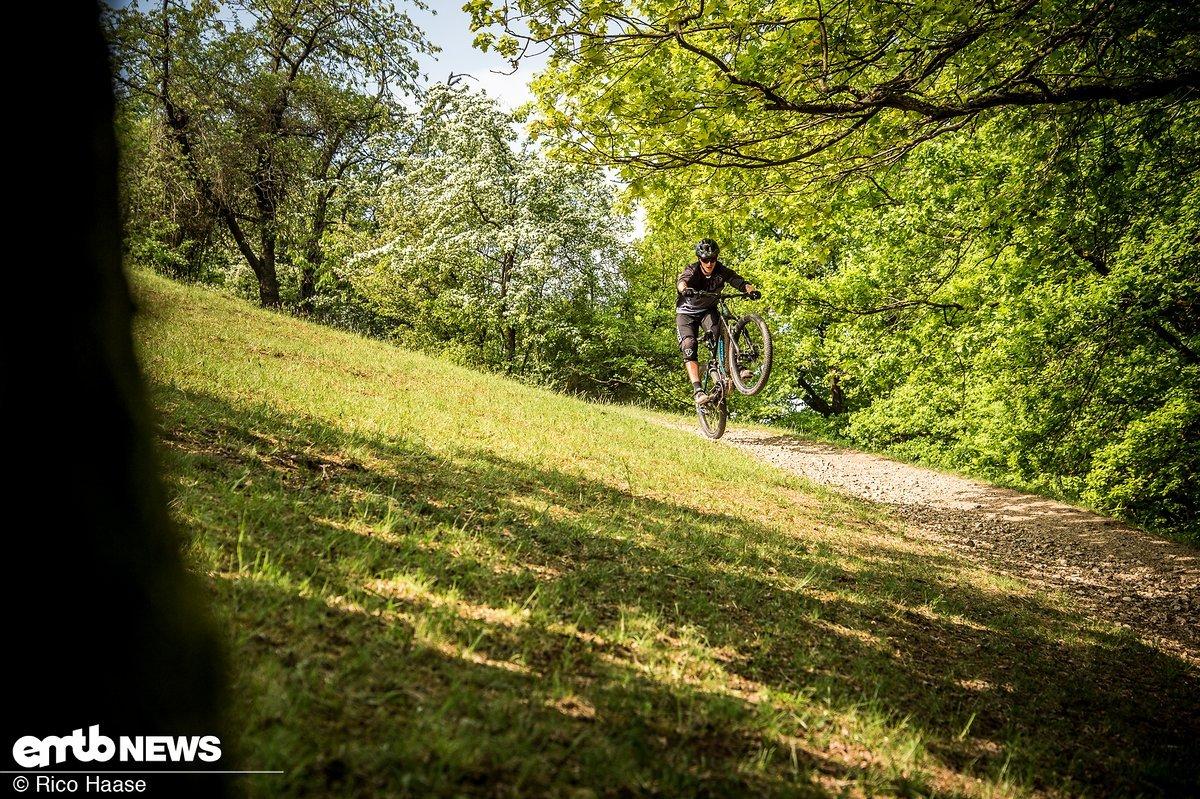 Spaß auf dem Trail