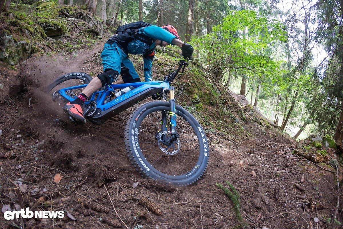 Und Action – mit dem BMC Trailfox AMP auf dem Trail