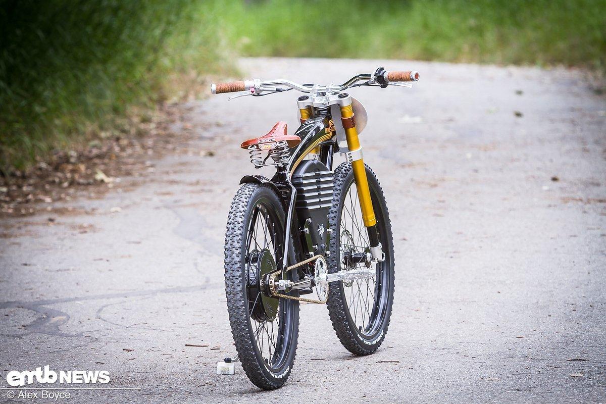 Aus der Ferne könnte es fast ein Motorrad sein …
