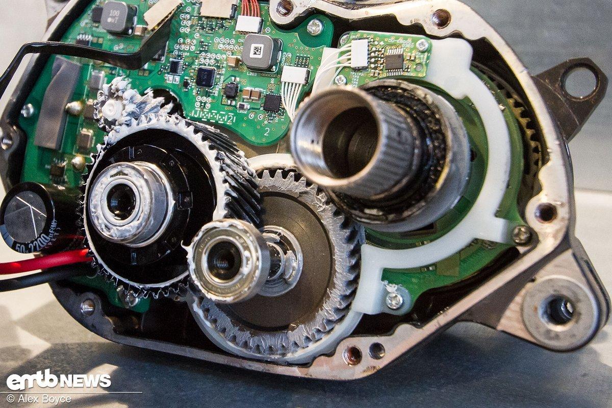Shimano E8000 zerlegt
