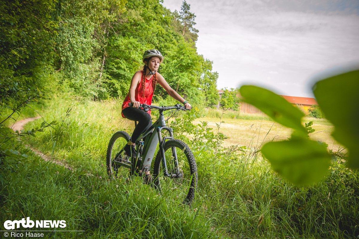 Die erste Tour auf dem E-Bike