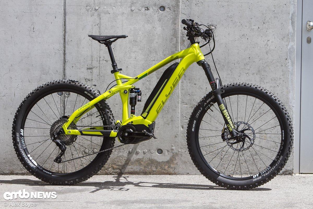 Unser Test-Bike, das Flyer Uproc 7 8.70