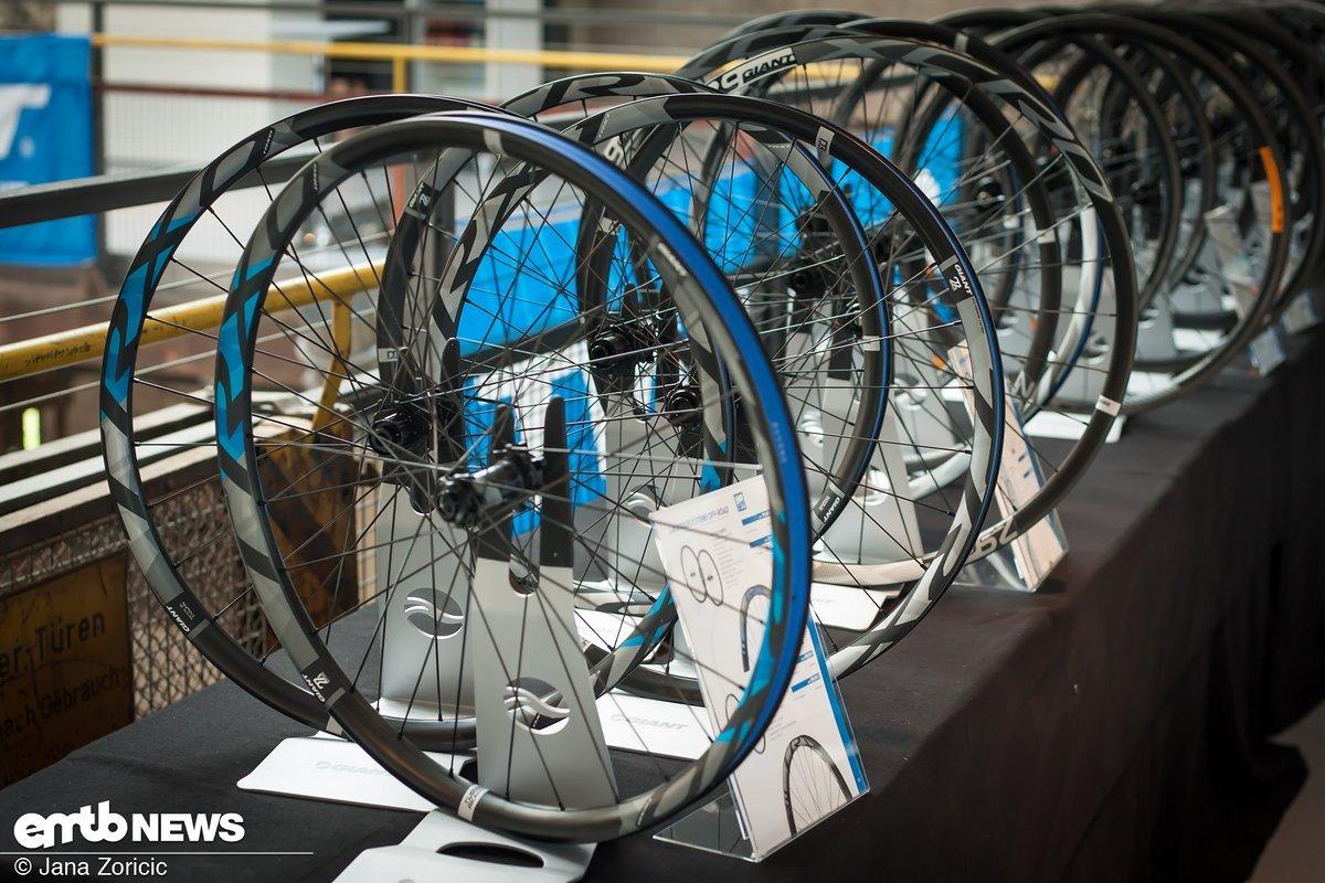 Giant bieten sogar Laufradsätze für jeden Einsatzbereich.