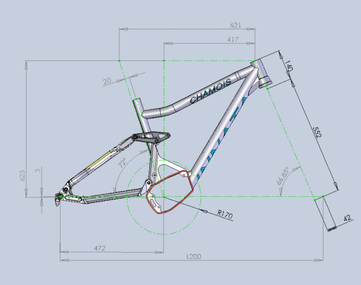 Geometrie Innata Chamois in Medium