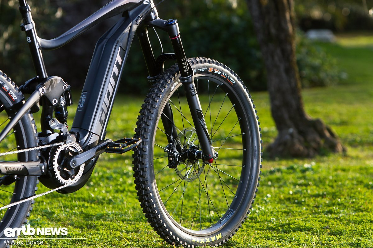Rockshox Lyrik in mattem Finish