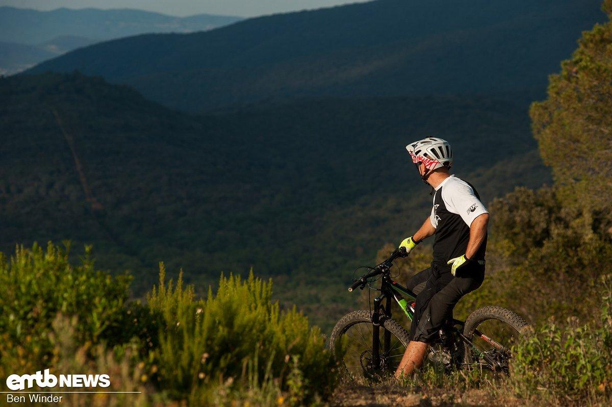 Das Ghost ist ein super All Mountain- oder Trailbike