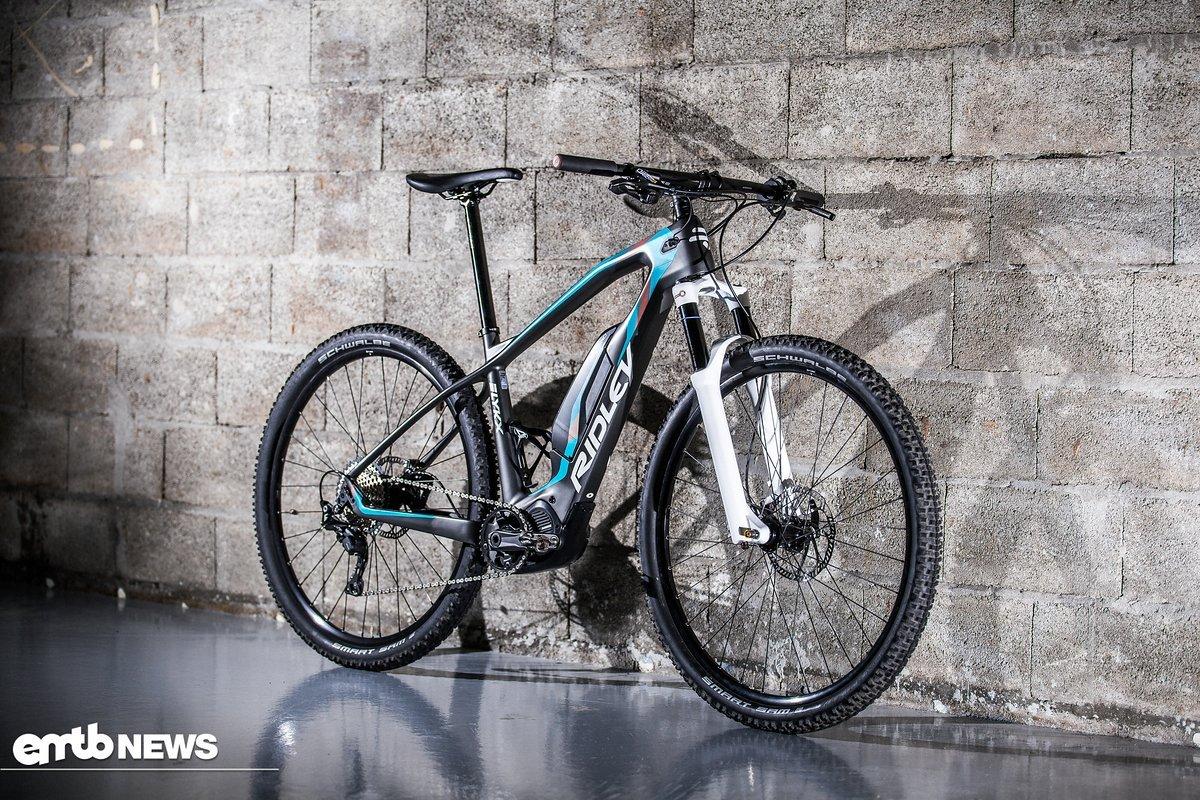 Laut Ridley soll das E-Bike geringe 18 kg wiegen.