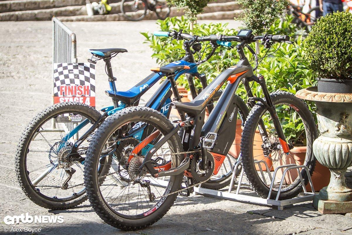 M1 stellten ihre 120 Nm Bikes zur Schau