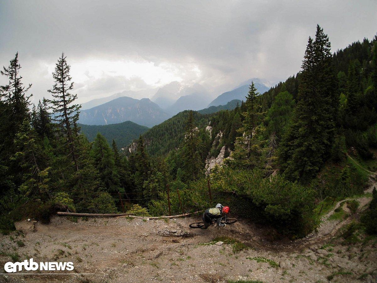 Die Trails in den slowenischen Alpen sind definitiv eine Reise wert!
