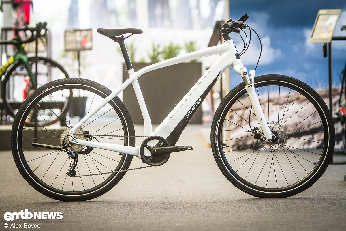 The Specialized Vado, a gravel/trekking/city bike with some really nice lines. Uses the Brose motor and comes with a different battery form compared to the full off-road versions.