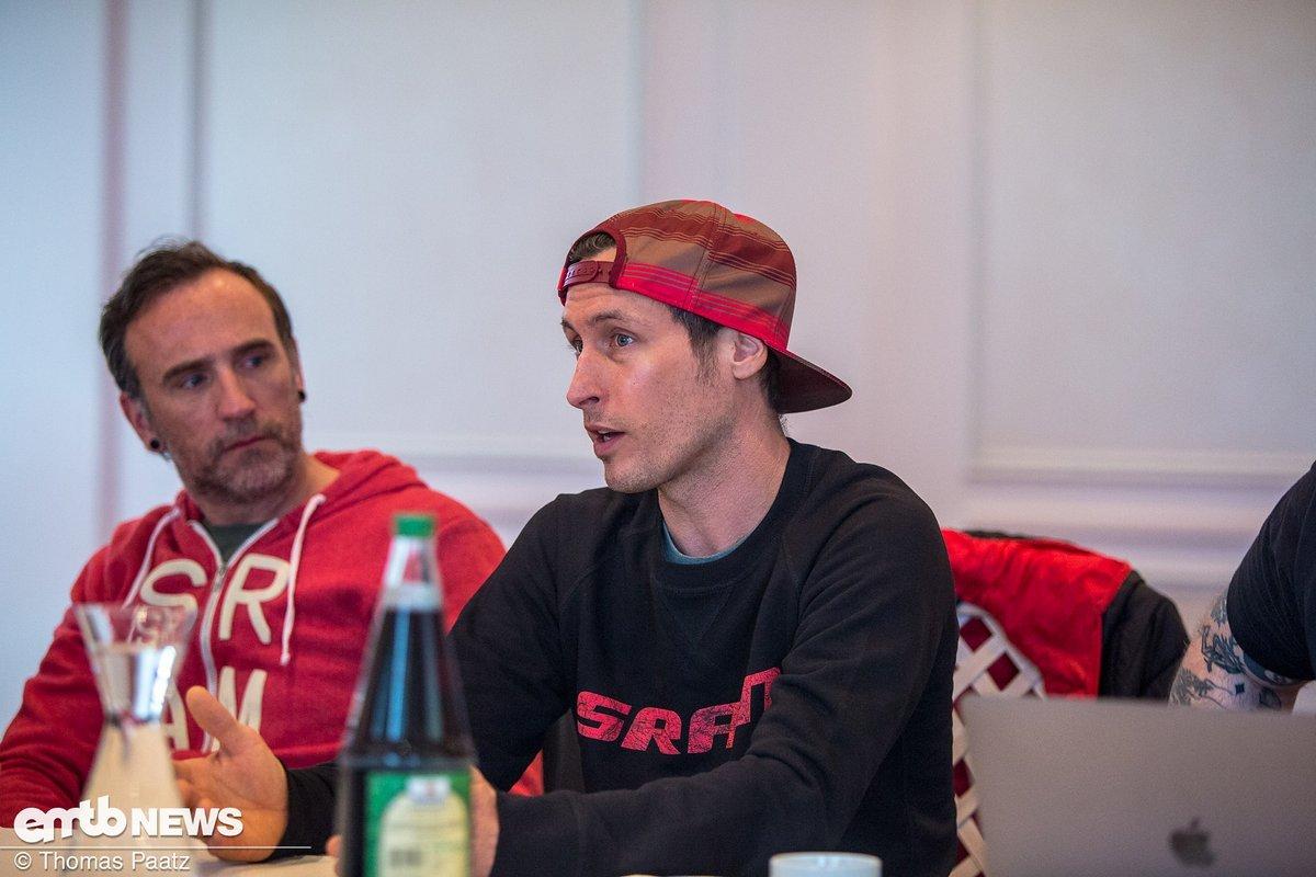 """Max Topp von SRAM: """"Motortuning vermeiden? Streckendesign ist hier vielleicht der Schlüssel."""""""