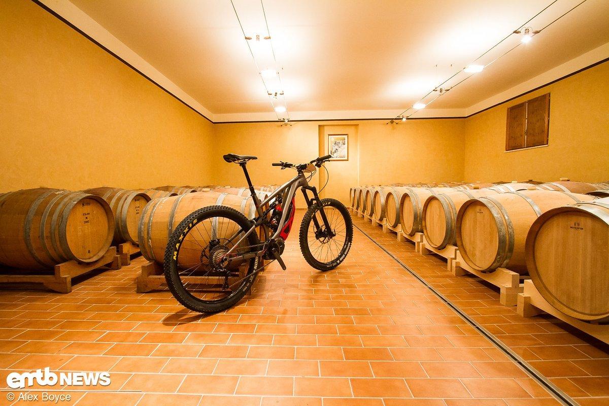 Die erste Begegnung mit dem Rad fand in einer für Italien nicht ganz ungewöhnlichen Umgebung statt.