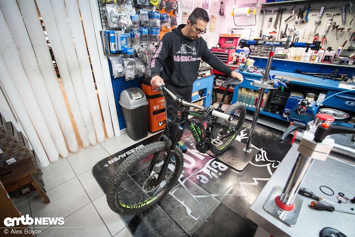 Unser Ghost Kato-Testbike wurde volle 9 Monate rangenommen