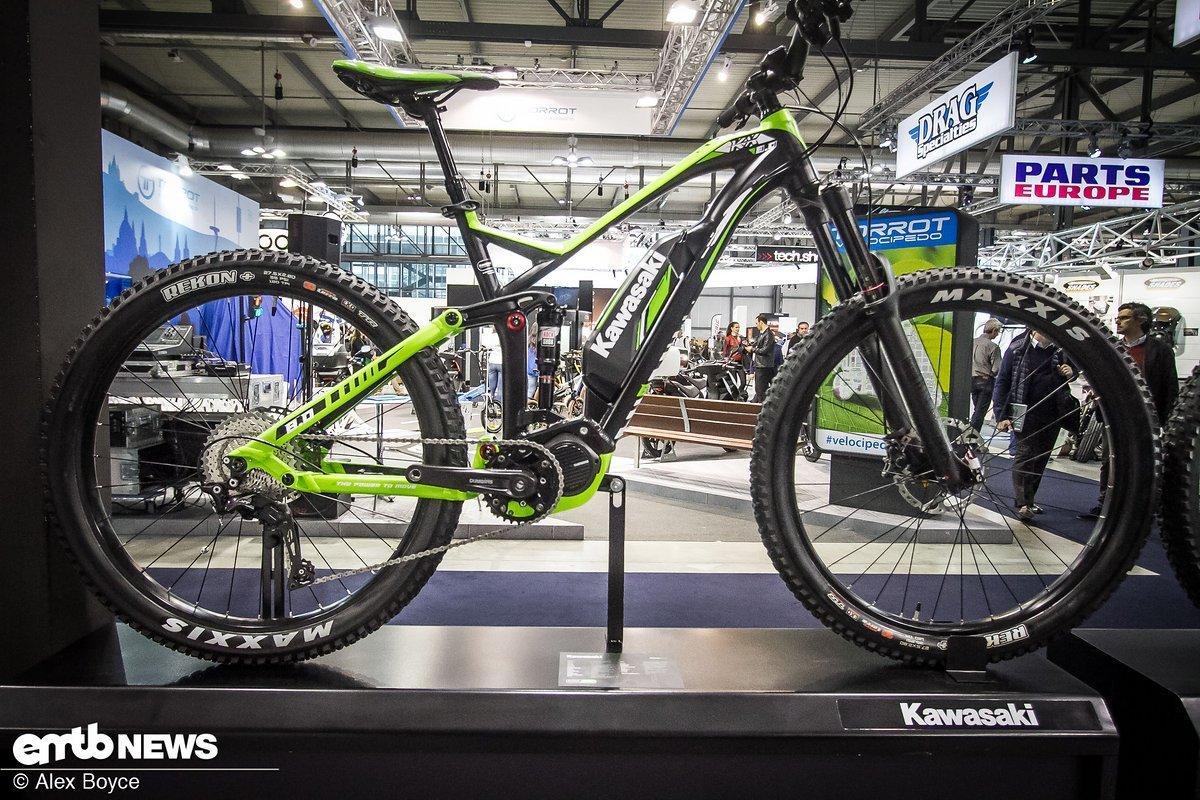 Steigen Kawasaki in den E-Bike Markt ein?