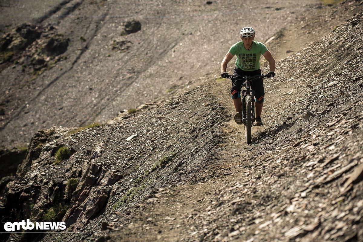 Auf diesen Trails lässt man es besser etwas ruhiger angehen