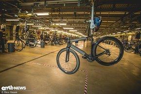 Bis zu 400 Bikes verlassen ...