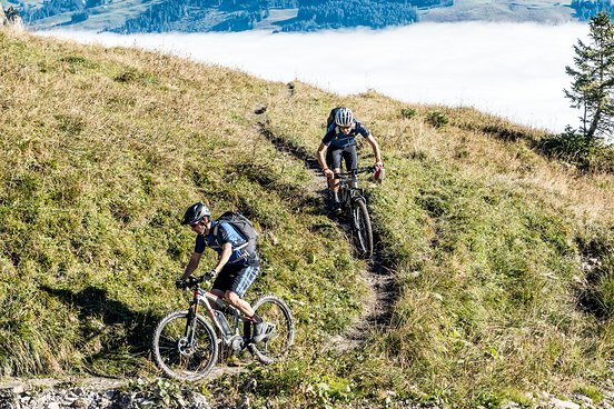 Schmale Trails machen mit dem E-Bike einfach Spaß