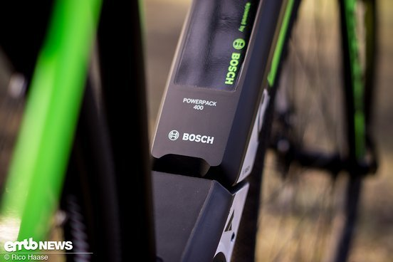 Gute Reichweite mit dem 400Wh Akku von Bosch