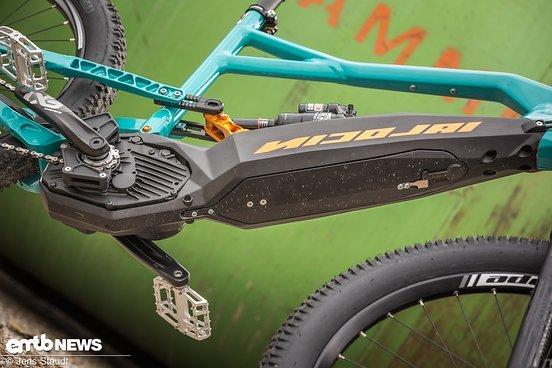 Im zweiten Farbschema wirkt das ION nicht ganz wie Batmans Bike