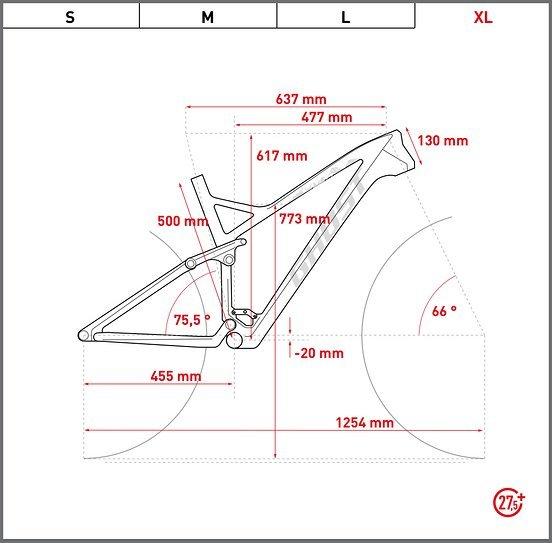 Rahmengröße XL
