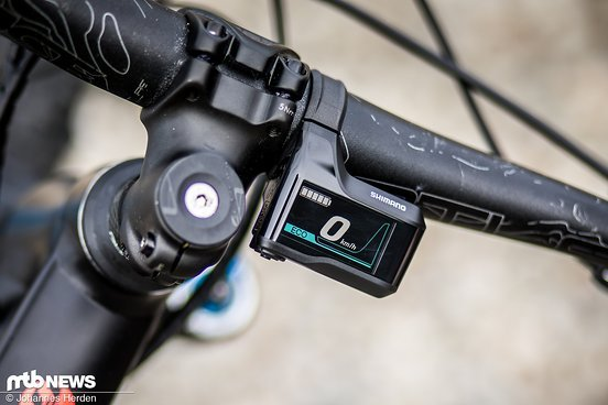 Das Shimano-Display