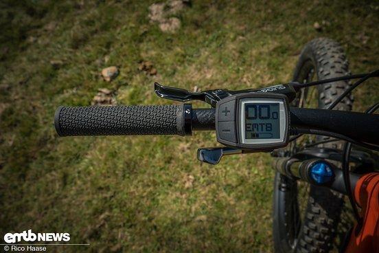 ... das ideale Display an einem eMTB mit Bosch-Motor