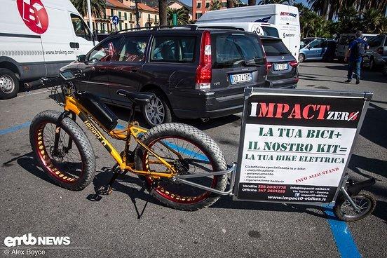 Mach jedes Rad zu einem E-Bike …
