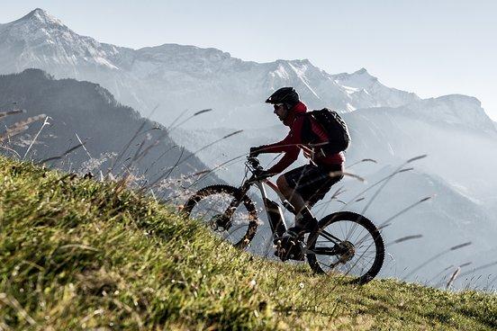 Uphill mit Panorama