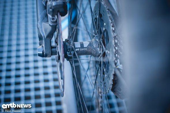 DT Swiss Hybrid-Laufräder mit E-Bike spezifischer Konstruktion